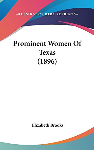 9781104434694: Prominent Women of Texas