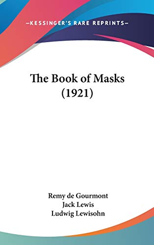 9781104438241: The Book of Masks (1921)
