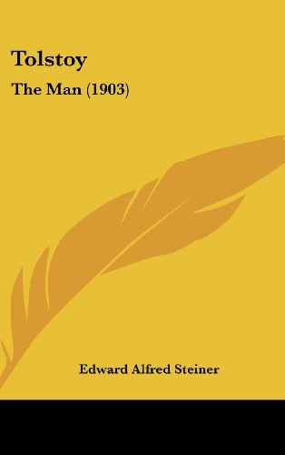 9781104447137: Tolstoy: The Man (1903)