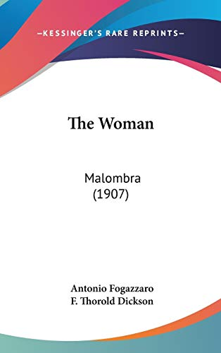 9781104454173: The Woman: Malombra (1907)