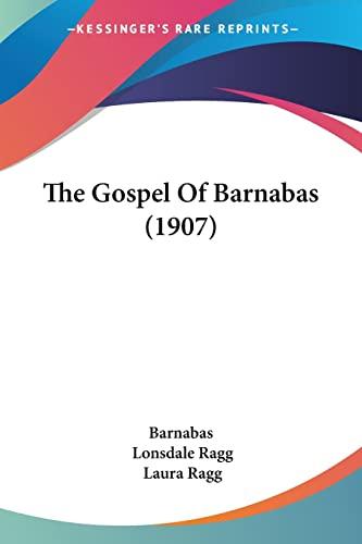 9781104492403: The Gospel Of Barnabas (1907)