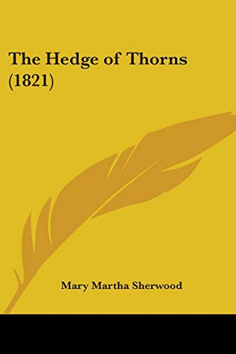 9781104493363: The Hedge of Thorns (1821)