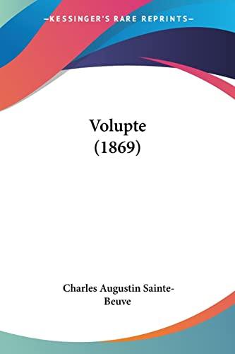 9781104524104: Volupte (1869)