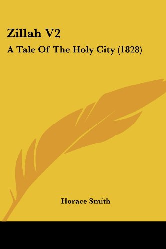 9781104535292: Zillah V2: A Tale of the Holy City (1828)