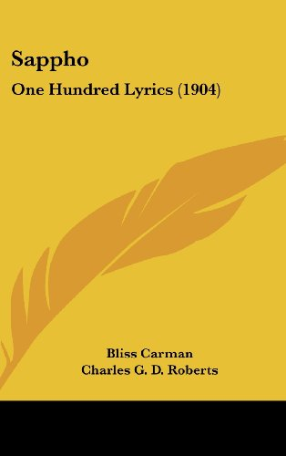 9781104543440: Sappho: One Hundred Lyrics (1904)