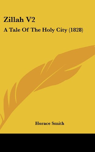 9781104567798: Zillah V2: A Tale of the Holy City (1828)