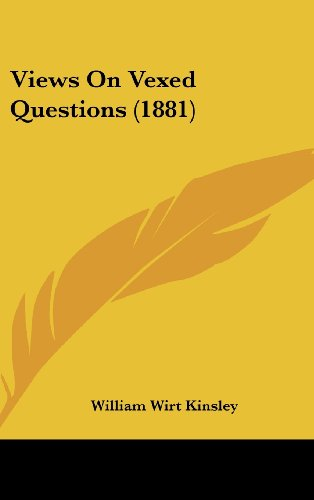 9781104577414: Views On Vexed Questions (1881)