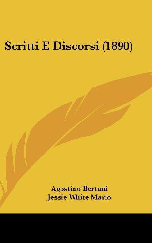 9781104578138: Scritti E Discorsi (1890)