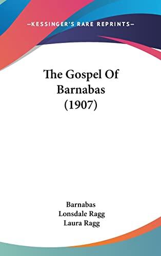 9781104587932: The Gospel Of Barnabas (1907)