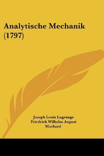 9781104614164: Analytische Mechanik (1797)