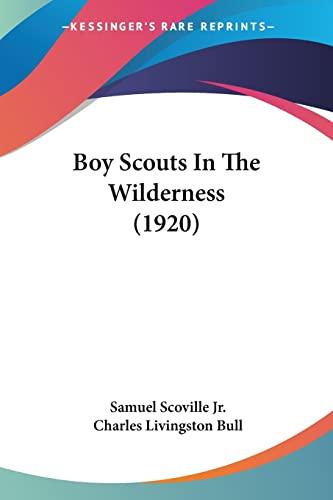 Boy Scouts in the Wilderness by Samuel: Samuel Scoville Jr
