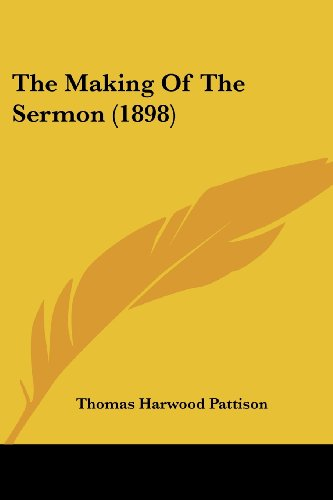 9781104661021: The Making Of The Sermon (1898)