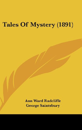 Tales Of Mystery (1891) (1104700662) by Radcliffe, Ann Ward