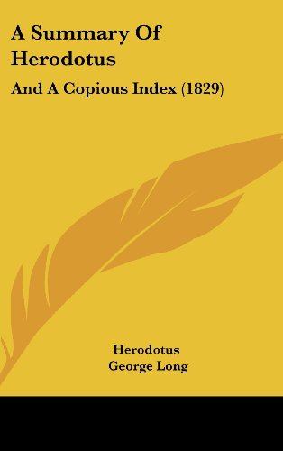 a summary of the story of the barbarians in the history by herodotus The hardcover of the the landmark herodotus: cicero called herodotus the father of history, and his only work  others by the barbarians—not go unsung.