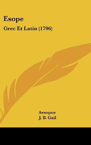 9781104705671: Esope: Grec Et Latin (1796)