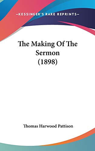 9781104706845: The Making Of The Sermon (1898)