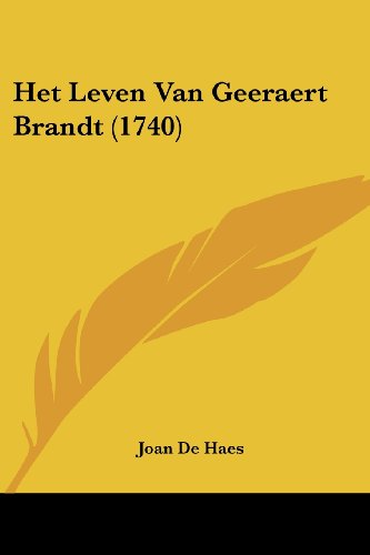 9781104760533: Het Leven Van Geeraert Brandt (1740)