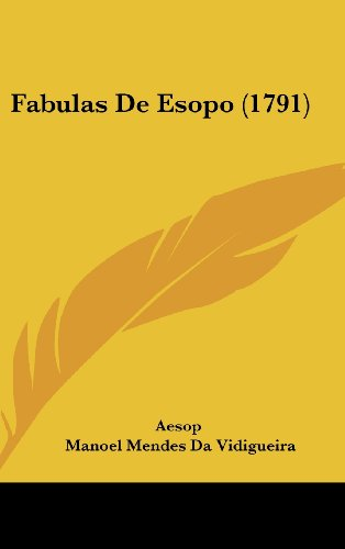 9781104795467: Fabulas De Esopo (1791) (English and Portuguese Edition)