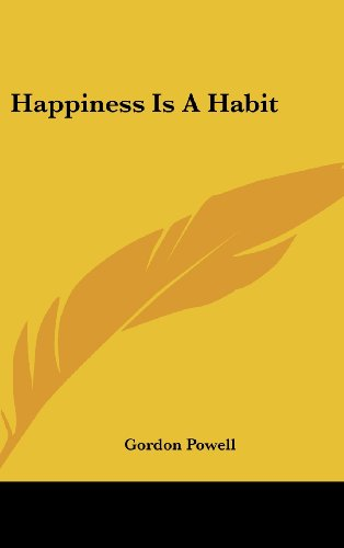9781104841034: Happiness Is a Habit