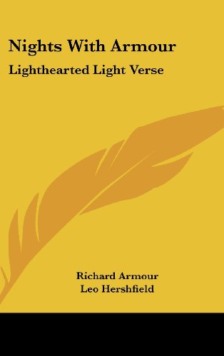 9781104843458: Nights with Armour: Lighthearted Light Verse