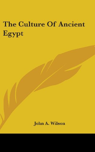 9781104846862: The Culture of Ancient Egypt