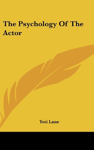 9781104848897: The Psychology Of The Actor