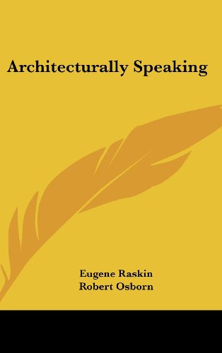 9781104851859: Architecturally Speaking