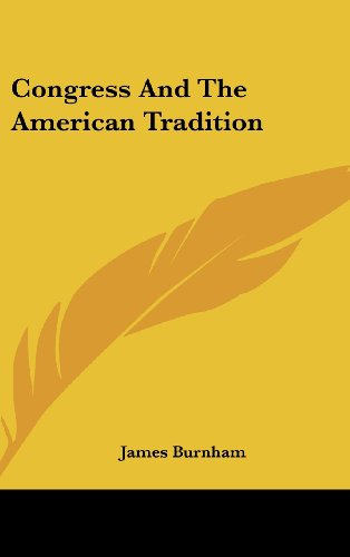9781104852177: Congress And The American Tradition