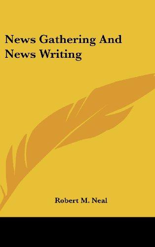 9781104853358: News Gathering and News Writing