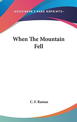 9781104854942: When The Mountain Fell