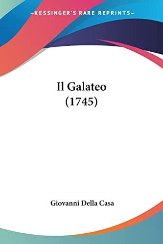 9781104869151: Il Galateo (1745) (Italian Edition)