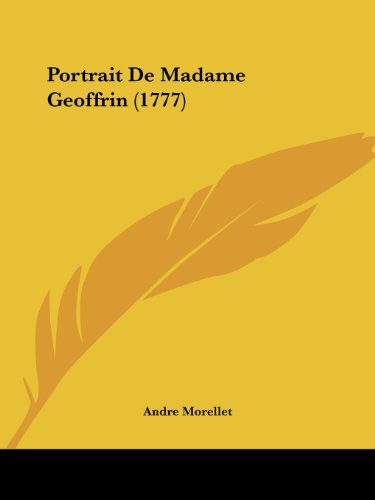9781104892715: Portrait de Madame Geoffrin (1777)