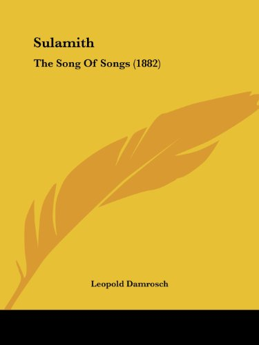 9781104906344: Sulamith: The Song Of Songs (1882)