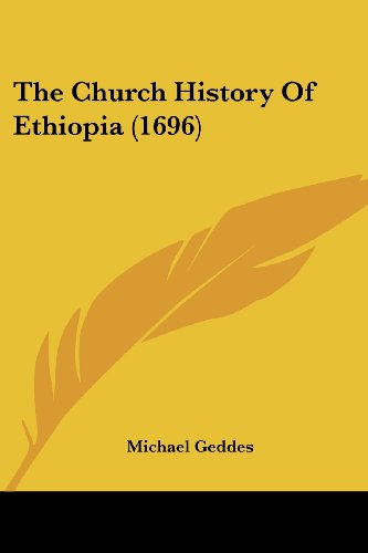 9781104910426: The Church History Of Ethiopia (1696)
