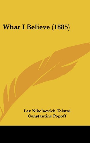 9781104948801: What I Believe (1885)