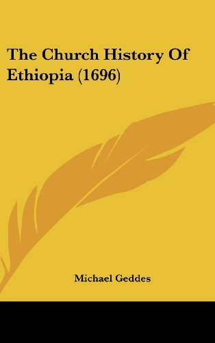 9781104977320: The Church History Of Ethiopia (1696)