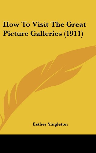 9781104980955: How To Visit The Great Picture Galleries (1911)