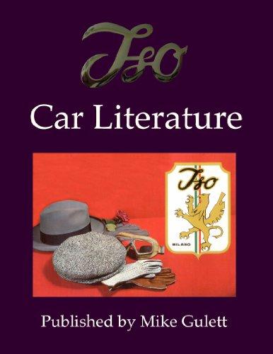 9781105056352: Iso Car Literature