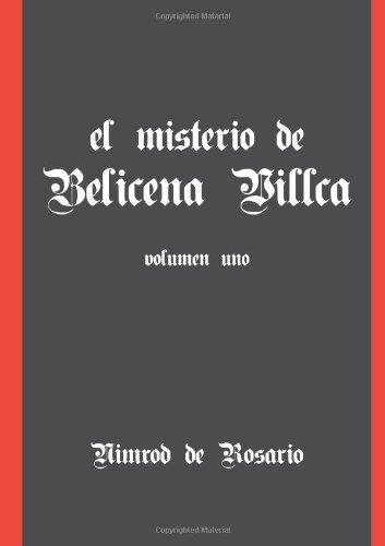 9781105057762: El Misterio De Belicena Villca. Volumen I (Spanish Edition)