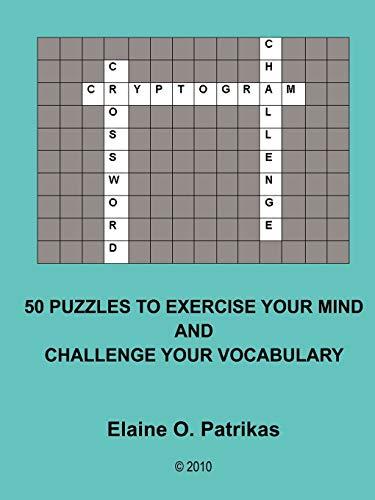 9781105119071: Cryptogram Crossword Challenge