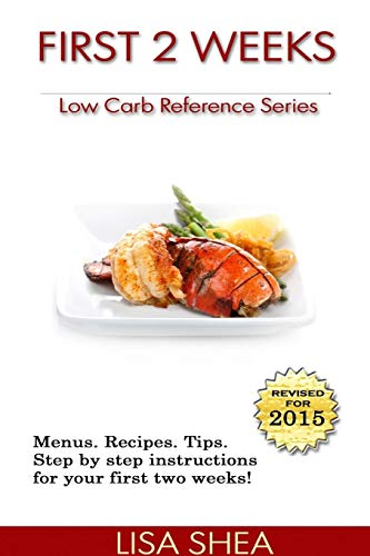 9781105167836: First 2 Weeks - Low Carb Reference