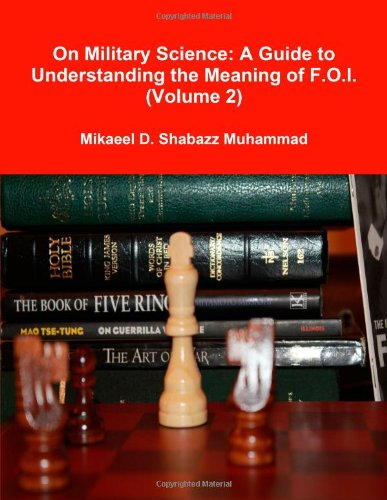 9781105176999: On Military Science: A Guide to Understanding the Meaning of F.O.I. (Volume 2)