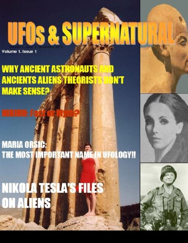9781105178511: Ufos & Supernatural Magazine Volume 1, Issue 1