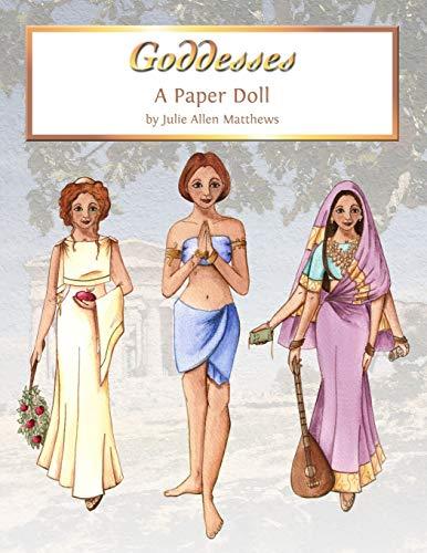 9781105253997: Goddess Paper Dolls
