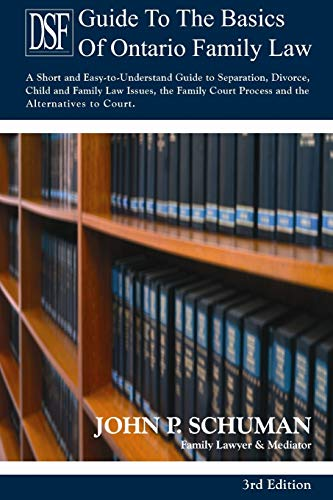 9781105271427: The Devry Smith Frank Llp Guide to the Basics of Ontario Family Law, 3rd Edition