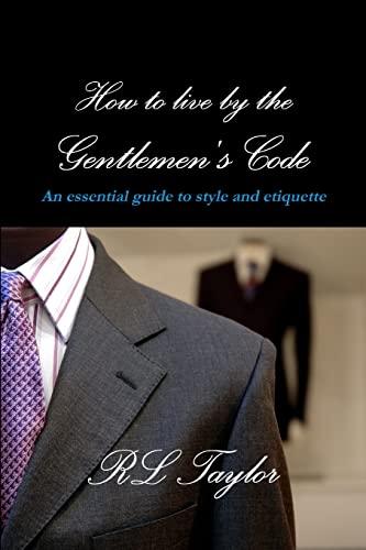 9781105387234: The Gentlemen'S Code