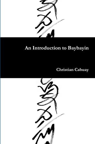 9781105422287: An Introduction to Baybayin
