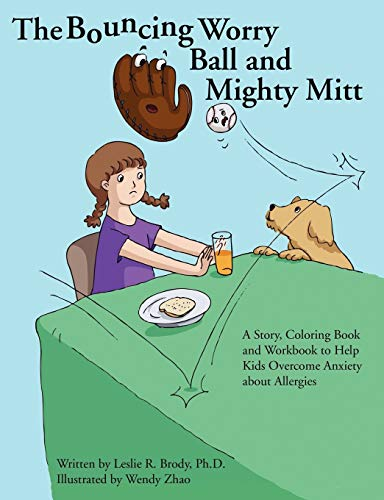 9781105488412: The Bouncing Worry Ball And Mighty Mitt