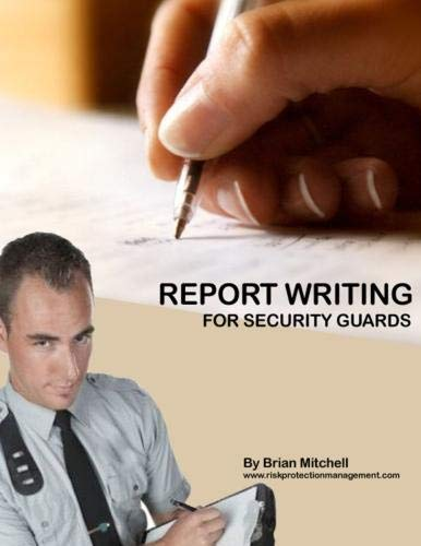 9781105644573: Report Writing For Security Guards