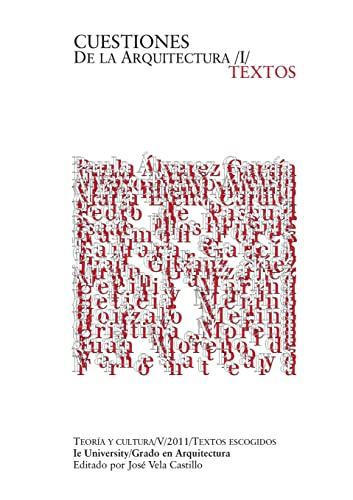 9781105834455: Cuestiones De La Arquitectura: IE University Architecture (Spanish Edition)